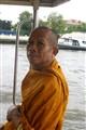 BUDDIST ON FERRY