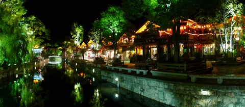Lijiang old city, China