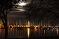 Moonlight over Matilda bay.