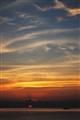 sun set in thiland