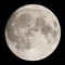 Full moon - focus stack: ~5 upscaled images focus stacked