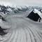 Alaska Glacier with Feeders