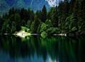 Lago di Tovel - Trentino, Italy.