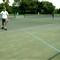 Strange Tennis Court