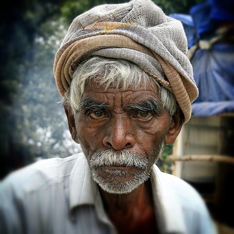 Oldman in Munnar