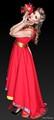 Model Claudia Falz | Designer Olga Papkovitch