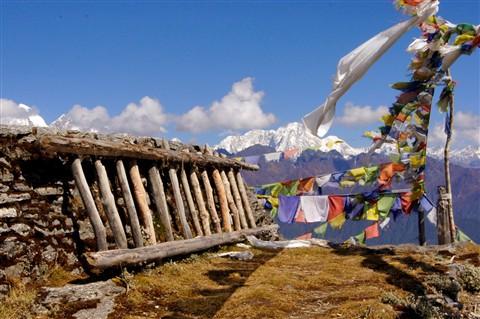 way to Himalayas...