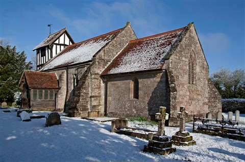 St Stephen's Church, Dormston, Worcestershire, England
