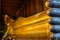 Five toes of Golden Budha Bangkok