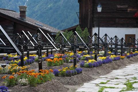 Graveyard in Lötschental