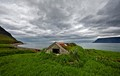 This is a old barn and  seep house in the West Fjords Iceland.