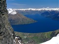 Lake Wakatipu and Queenstown, from the Remarkables