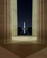 Lincoln Looking at Washington