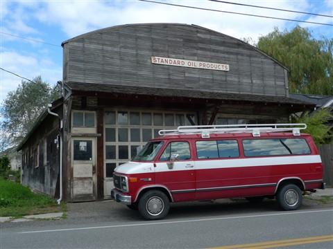 Standard Oil Van