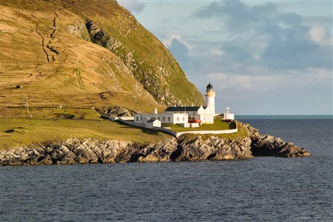 Shetland Islands: Lighthouse