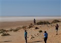 Looking for the water in Lake Eyre