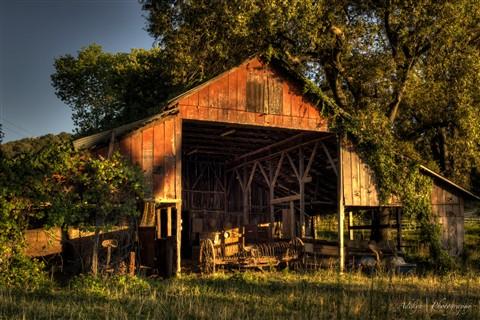 Old California Barn