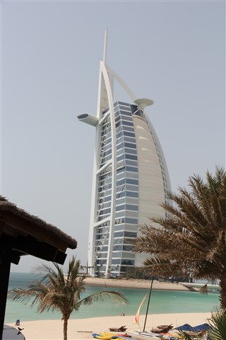 "The exclusive ""Burj Al Arab"" in Dubai."
