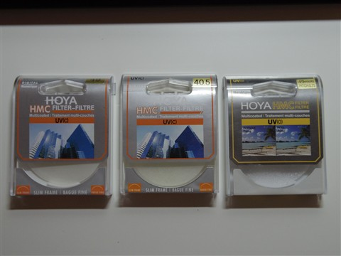 49mm UV(c), 40.5mm UV(c), 49mm UV(0) Box 1