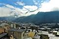 Sunny morning in Andorra la vella