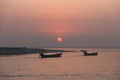 Sunset on the Padma