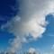 HDR wolk en riet WM klein