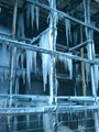 Very cold night shift, and cooling towers froze