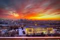 Philly Art Museum Sunset