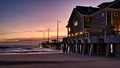Sunrise at Jeannette's Pier in OBX