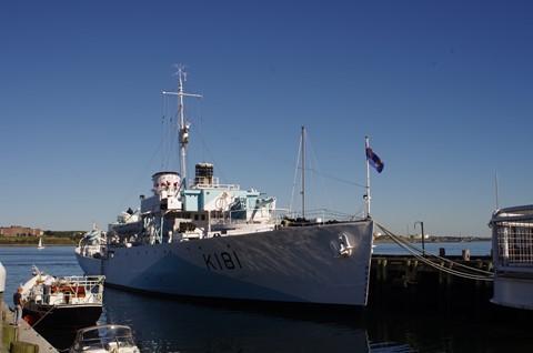 HMCS Sackville. last WW2 corvette
