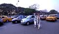 the busiest road,Red Road,Kolkata,India.