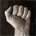 Rough fist working man