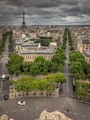 Paris from Arc de Triomphe