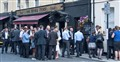 Having a Drink at London Pub