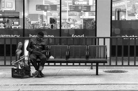 Homeless-Man-San-Diego-Trolley