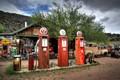 Vintage Gas Station, Embudo, New Mexico
