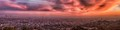 LA Basin Sunset Panorama