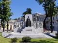 Monument to Empress Elisabeth of Austria in Trieste, Italy