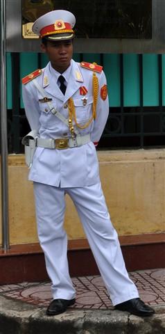 UniformNearHoChiMinMausoleum