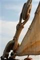 Tall ship sail corner