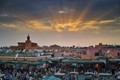 Jemaa Al Fna sunset