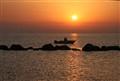 Impression de soleil levant