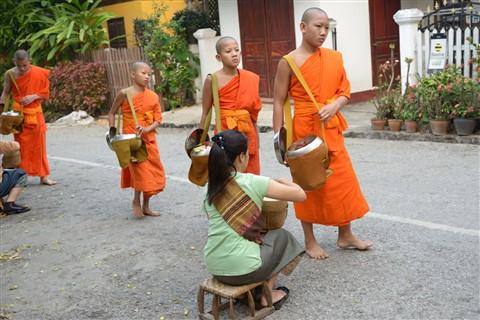 Young monks in Luang Prabang