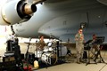 U.S. Air Force Band under wing of C-17