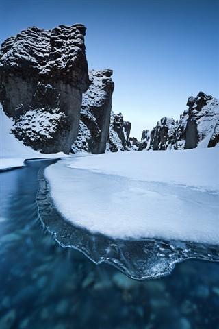 m Fjadrargljufur Canyon 15-12-2011 8