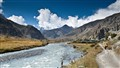 Marshyangdi River, on the Way to Manang, Nepal