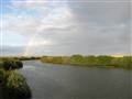 Rainbow over Nura River BEFORE