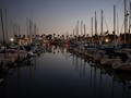 Marina, just after sunset