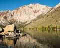 I got my kayak in January, with the plan of getting a new perspective of the Eastern Sierras.  This is my first image taken from my kayak in the Sierras.  The image was taken as I paddled out of the launch area.
