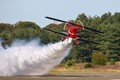 Pitts Special with smoke